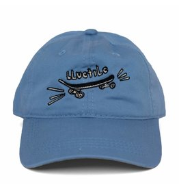 "BLUETILE BLUETILE ""SKATE BORED"" DAD HAT COLUMBIA BLUE"