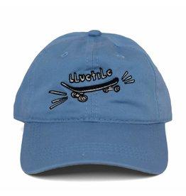 "BLUETILE BLUETILE ""SKATE BORED"" DAD HAT COLUMBIA BLUE"