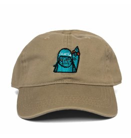 "BLUETILE BLUETILE ""SKATE GRUMP"" DAD HAT KHAKI"