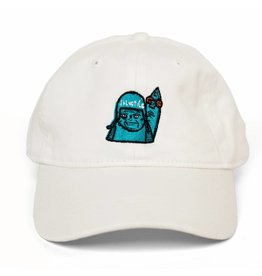 "BLUETILE BLUETILE ""SKATE GRUMP"" DAD HAT WHITE"