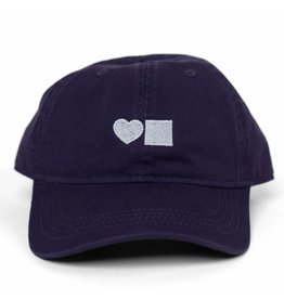 BLUETILE LOVE BLUETILE DAD HAT PURPLE