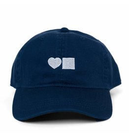 BLUETILE LOVE BLUETILE DAD HAT ROYAL BLUE