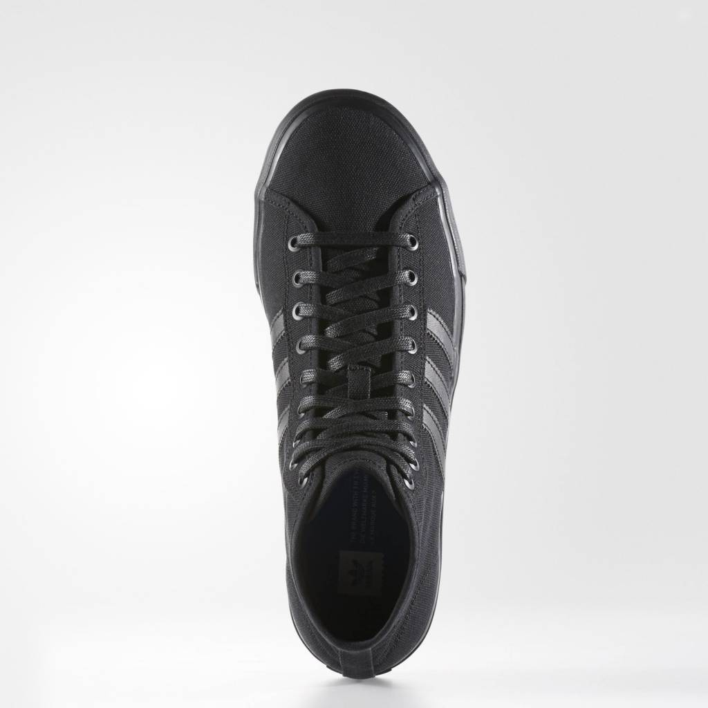 ADIDAS ADIDAS MATCHCOURT HIGH RX BLACK ON BLACK !!SALE!!