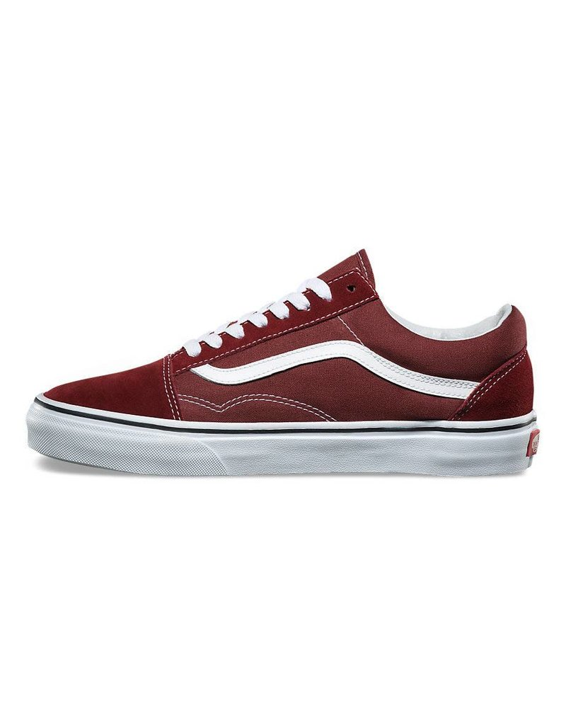 VANS VANS OLD SKOOL MADDER BROWN / TRUE WHITE - Bluetile ...