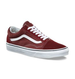 VANS VANS OLD SKOOL MADDER BROWN / TRUE WHITE