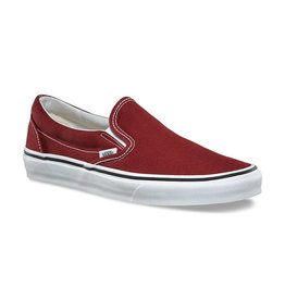 VANS VANS CLASSIC SLIP-ON MADDER BROWN / TRUE WHITE