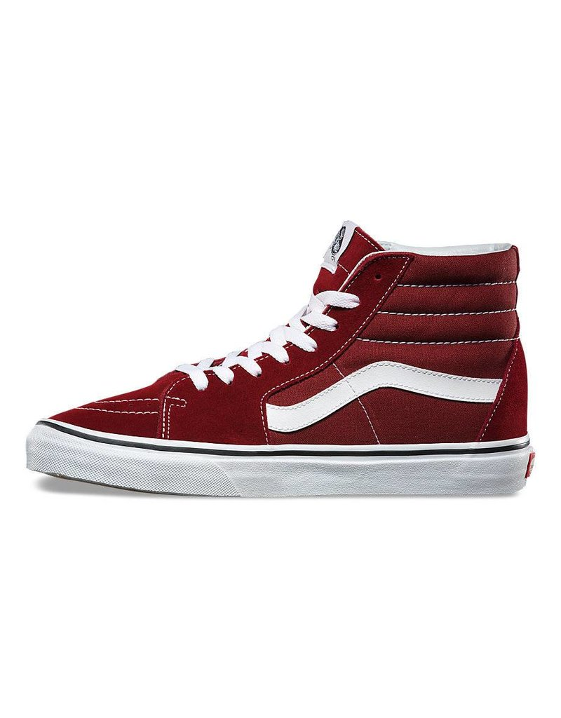 VANS VANS SK8-HI MADDER BROWN / TRUE WHITE