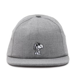 VANS VANS X PEANUTS SNOOPY JOCKEY HAT HEATHER GRAY