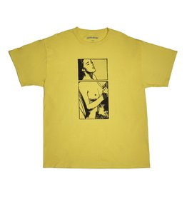 FUCKING AWESOME FUCKING AWESOME COMIC T-SHIRT YELLOW