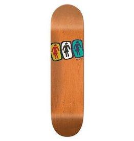 GIRL GIRL SKATEBOARDS ANDREW BROPHY - SKETCHY ONE OFF 8.5