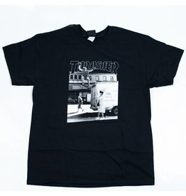 THRASHER THRASHER HACKETT T-SHIRT BLACK