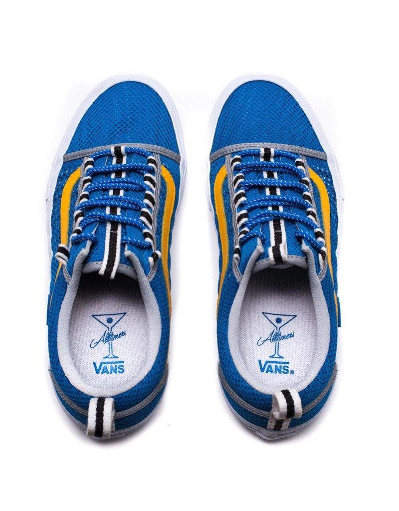 VANS VANS X ALLTIMERS OLD SKOOL SPORT PRO BLUE / YELLOW