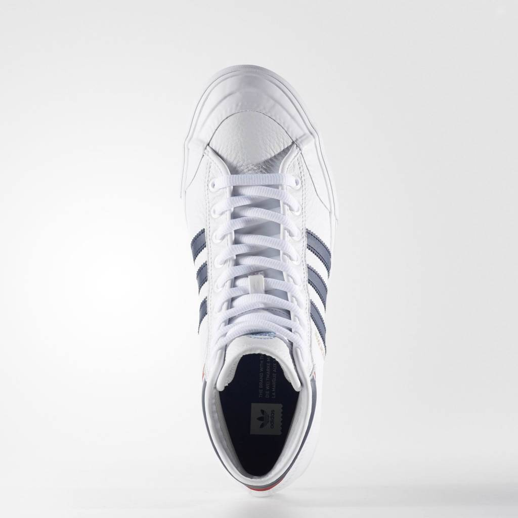 ADIDAS ADIDAS MATCHCOURT HIGH RX2 OG WHITE / NAVY / RED