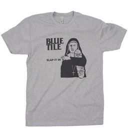 BLUETILE BLUETILE SLAP IT IN RMX T-SHIRT GRAY / BLACK