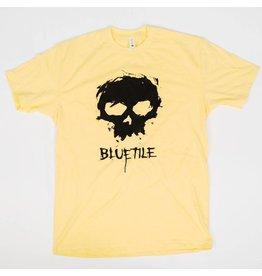 BLUETILE ZERO X BLUETILE SKULL T-SHIRT YELLOW