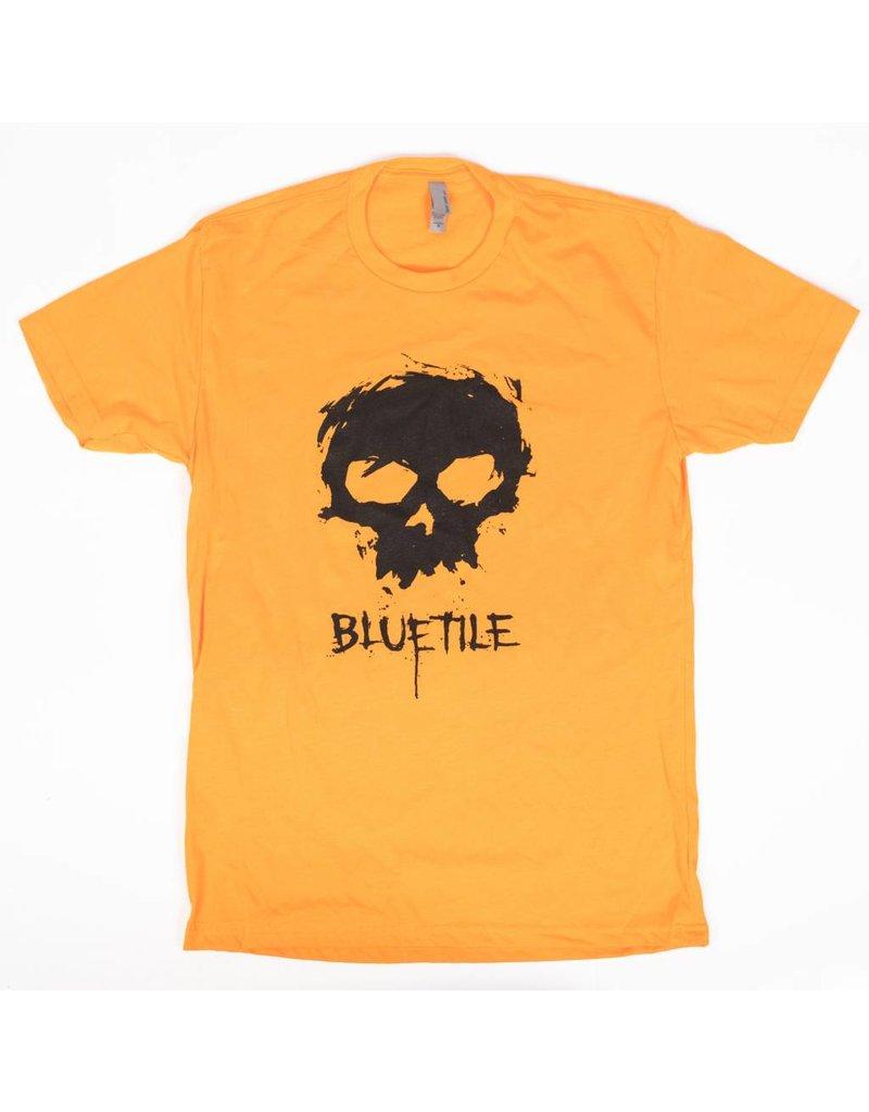 BLUETILE ZERO X BLUETILE SKULL T-SHIRT ORANGE
