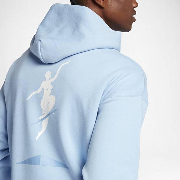 blue converse hoodie