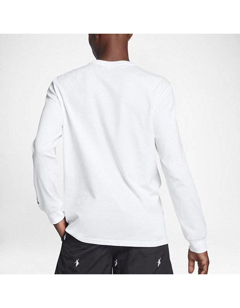 CONVERSE CONVERSE X POLAR SKATE CO JACK PURCELL LONG SLEEVE T-SHIRT WHITE