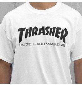 THRASHER THRASHER SKATE MAG LOGO WHITE / BLACK