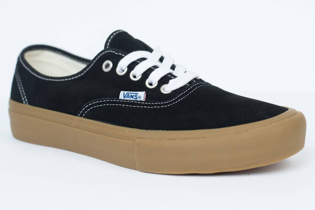 e3f612e0cdffa1 vans authentic black and gum Sale