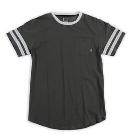 HABITAT HABITAT BECKET POCKET TEE GREY WASH