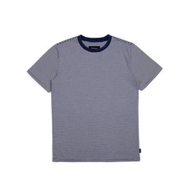 BRIXTON BRIXTON PABLO WASHED S/S KNIT NAVY / OFF WHITE