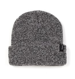 BRIXTON BRIXTON HEIST BEANIE BLACK / HEATHER GREY