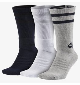 NIKE SB DRY CREW SOCK 3 PACK MULTICOLOR