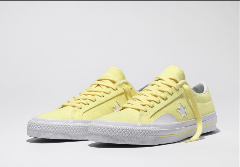 converse one star pro yellow