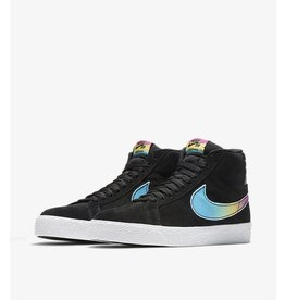 NIKE SB ZOOM BLAZER MID QS LANCE MOUNTAIN BLACK / MULTICOLOR