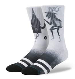 STANCE STANCE X JAY HOWELL WIZARD TIME BLACK / WHITE