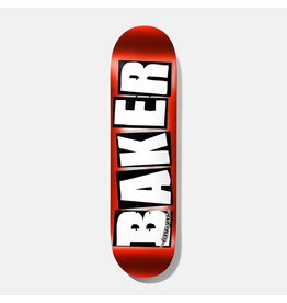 BAKER BAKER RED FOIL LOGO BOARD 8.25