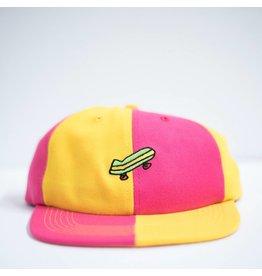 BAKER BAKER SPLIT YELLOW / PINK SNAPBACK HAT
