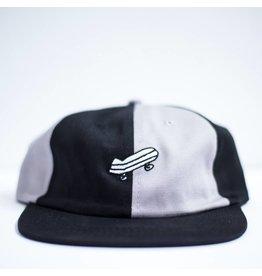 BAKER BAKER SPLIT BLACK / GREY SNAPBACK HAT