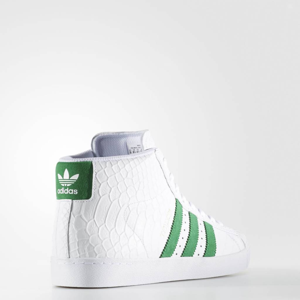 ADIDAS ADIDAS PRO MODEL VULC ADV X TYSHAWN JONES  WHITE / GREEN