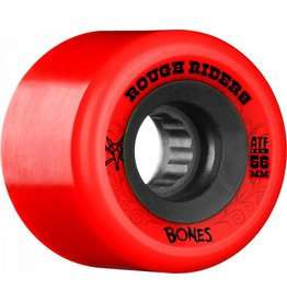 BONES BONES WHEELS ROUGH RIDERS ATF RED 60B
