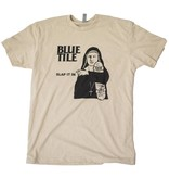 BLUETILE BLUETILE SLAP IT IN RMX T-SHIRT CREAM / BLACK