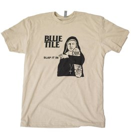 BLUETILE BLUETILE SLAP IT IN RMX T-SHIRT CREAM / BLACK