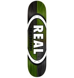 REAL REAL SKATEBOARDS DOUBLE DIP OVAL 8.75