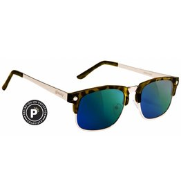 GLASSY GLASSY SUNHATERS P-ROD POLARIZED TORTOISE / GREEN MIRROR