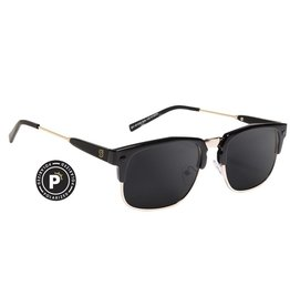 GLASSY GLASSY SUNHATERS P-ROD POLARIZED BLACK / GOLD