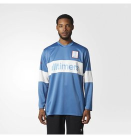 ADIDAS ADIDAS X ALLTIMERS JERSEY CORE BLUE / OFF WHITE / SCARLETT