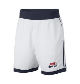 "NIKE SB SHORTS ""DREAM TEAM"" WHITE / OBSIDIAN / UNIVERSITY RED"