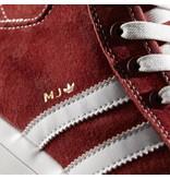 "ADIDAS ADIDAS MATCHCOURT MID ""MJ""  GARNET / WHITE"