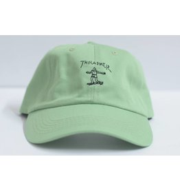 THRASHER THRASHER GONZ DAD HAT GREEN