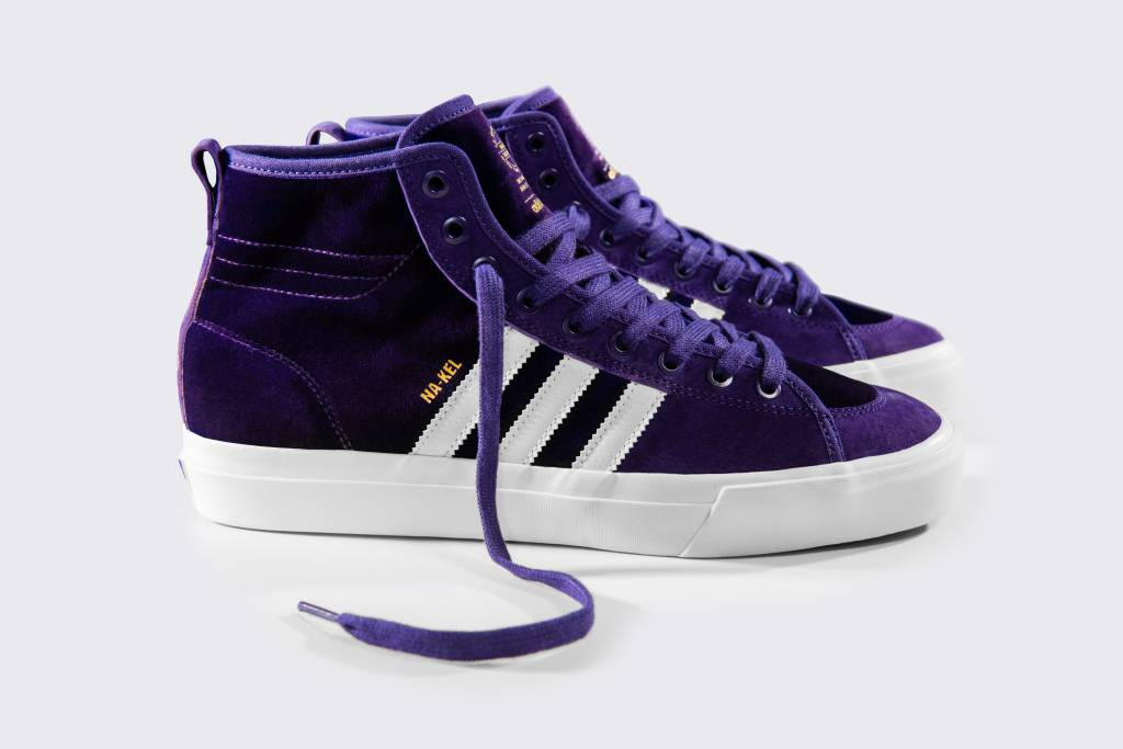 ADIDAS ADIDAS MATCHCOURT HIGH RX NA-KEL DEEP PURPLE