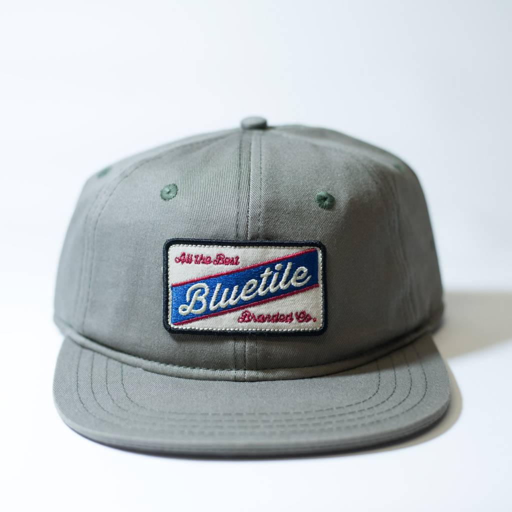 "BLUETILE BLUETILE ""ALL THE BEST"" COLOR PATCH FATIGUE GREEN"