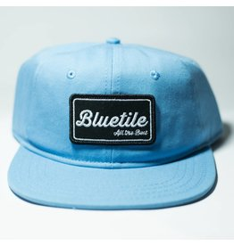 "BLUETILE BLUETILE ""ALL THE BEST"" PATCH CAROLINA BLUE"