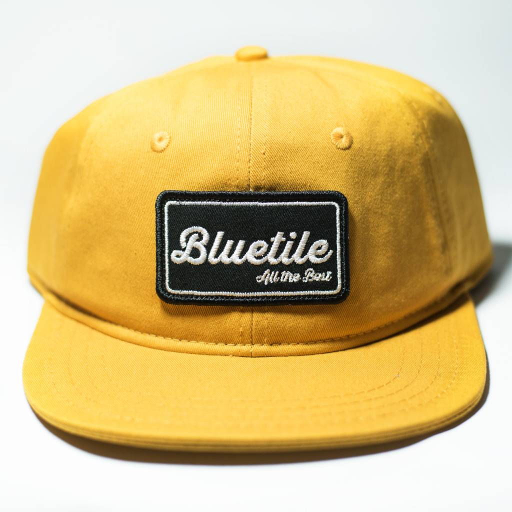 "BLUETILE BLUETILE ""ALL THE BEST"" PATCH MUSTARD YELLOW"