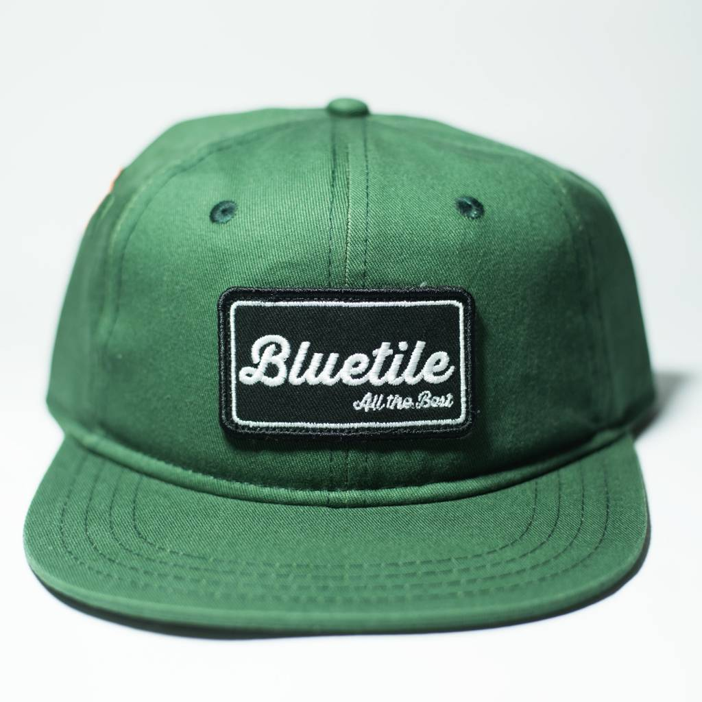 "BLUETILE BLUETILE ""ALL THE BEST"" PATCH FOREST GREEN"